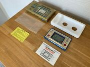 Boxed Cgl / Nintendo Game And Watch Fire Vintage 1981 Electronic Lcd Game - Mint