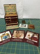 American Girl Josefina Writing Desk Doll Accessory W/ Booklet And Box Retired