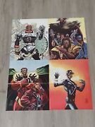 Dc Milestone Collector's Edition Poster Static, Icon, Hardware, Blood Syndicate.