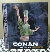 Conan - Thoth-amon Bust Statue By Dark Horse Designs 2006 Mint In Box