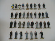 Marx President Complete Set Vintage Painted 60mm Americana Toy Soldier Playset