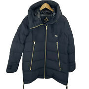 Moose Knuckles Val Marie Puffer Down Jacket Size Large Oversized Hood