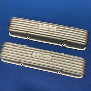 Weiand Say Why And Chevrolet V8 Valve Covers Pair Sbc Scta