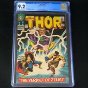 Thor 129 Marvel 1966 💥 Cgc 9.2 💥 1st Appearance Of Ares Zeus Pluto Comic
