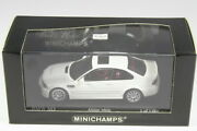 Minichamps 1/43 Bmw M3 E46 Alpine White 2000 Hong Kong Owners Club Only