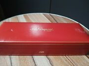Rare St Dupont Paris Red Box Only Vintage For Fountain Pens