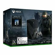 Xbox Series X – Halo Infinite Limited Edition Video Game Console Bundle Presale