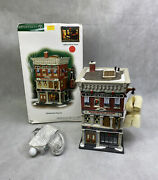 Dept 56 Christmas In The City Hammerstein Piano Co Village Building New 799941