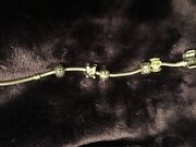 Pandora Bracelet 7 Inches With 5 Charms - Free Shipping