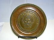 Copper And Brass Platter Plaque Tray The Forum Of The Twelve Caesars By Emsa Italy