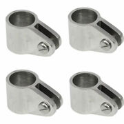 Isure 316 Stainless Steel 3/4'' Jaw Slide 19mm Bimini Top Fitting For Boat 2pc