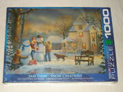 New/sealed Sam Timm - Snow Creations 1000 Piece Eurographics Puzzle