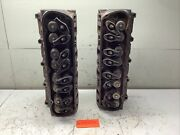 1969 Ford 351w Small Block Cylinder Head Set C9oe-g - Date 8h29 And 8h27