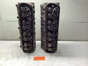 1969 Ford 302 5.0l Small Block Cylinder Head Set C9oe-e - Date 8f29 And 8g2