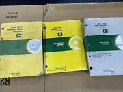 John Deere 5200 5300 5400 5500 Tractor Parts Operator And Technical Manuals