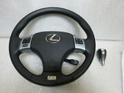 Rare Is-f With Paddle Is Lexus Series 20 Isf Sports Genuine Leather Steering