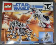 New Factory Sealed Lego Star Wars 10195 Republic Dropship With At-ot Walker