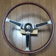 Old Car Steering Sunny Coupe B10