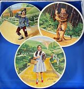 Set Of Seven - The Wizard Of Oz - Konwles Collector Plates