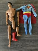 Mego 12 Inch Supermanchristoperreeve 1977 For Parts Or Repair