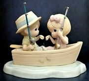 Precious Moments Extremely Rare Sample Figurine The Perfect Catch