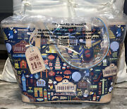 Disney Dooney And Bourke Nwt Retired Wdw 20th Anniversary Food And Wine Tote