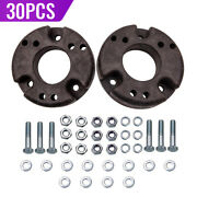 30 Pair Front 2 Leveling Lift Kit Strut Extensions For Ford F150 09-20 4wd 2wd