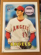 Shohei Ohtani 2018 Topps Heritage 10x14 Rookie Rc Logo 17/99 His Jersey Only 1