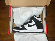Size 5y - Nike Dunk High Panda Gs. 100 Authentic