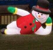 20ft Giant Inflatable Airblown Snowman Santa Christmas Yard Decor Frosty Blow Up