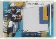 🔥 Mike Williams Rookie 🔥 2017 Panini Origins Turquoise /25 4 Color Jersey Rc