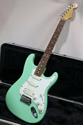 Fender Jeff Beck Stratocaster Surf Green Electric Guitar Usa Made S/n Sn5932986