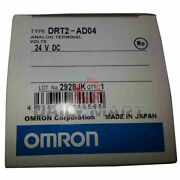 Brand New Omron Drt2-ad04 Smart Slave 4 Analog Inputs Lead Free Rohs Compliant