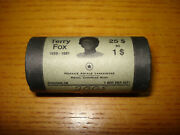 2005 Canada 1 Terry Fox Special Wrap Coin Roll Of 25 Coins Uncirculated