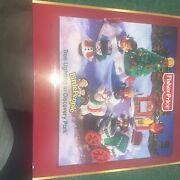 Fisher Price Little People Christmas Tree Lighting In Discovery Park New