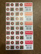 Usps Forever Stamps - Christmas Holiday Wreaths - 5 Booklets Of 20 Stamps