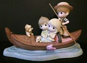 Precious Moments Large Limited 3000 Amore 123026 Gondola In Venice
