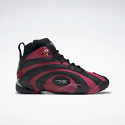 Reebok Men's Classics Shaqnosis Leather Shoes Red / Pink / Black