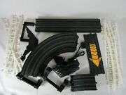 Lot Life-like Racing Tracks Curve Straight Loop Power Track With Controls Guards