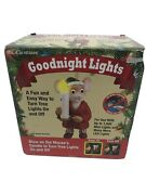 Mr. Christmas Goodnight Lights Mouse W/ Candle Controller Tree New In Box