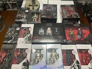 Star Wars The Black Series 6 Inch Lot Of Sealed Figures- Updated