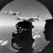 Antique Ww 11 Repro 8x10 Photo Print Boeing B 29 Bomber Escorted By P 51 Mustang