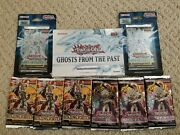 🔥yugioh 6x Booster/2x Blister Packs -1 Ghost From The Past Box /factory Seal 🔥