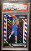 2018 Panini Prizm Red White And Blue 280 Luka Doncic Rc Psa 9