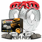 Kc7939 36 Power Stop Kc7939 36 Z36 Truck And Tow Front And Rear Caliper Kit Brake
