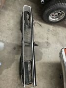 1968 Dodge Charger Grille Complete 68 Charger Grill With Headlight Actuators