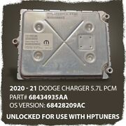 2020 - 21 Dodge Charger 5.7l Pcm Unlocked Hptuners - Used - 68434935aa