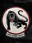 Wwii Usaaf 15th Air Force 460th Bomb Group Reunion Squadron Patch Full Size 2