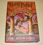 Harry Potter And The Sorcererand039s Stone By J.k. Rowling 1998 Hardcover 1st Ed Sig