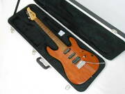 Dragonfly By Harryand039s Engineering Co Hi-sta Exotic Electric Guitar With Hard Case